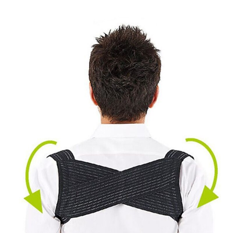 Hommes Posture correcteur respirant dos épaule bossu Correction orthèse ceinture sangle YS-BUY