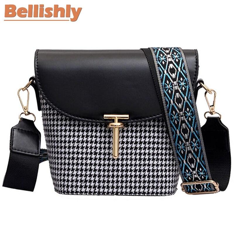 Bellishly 2019 moda para as mulheres xadrez zíper sacos de ombro crossbody saco do mensageiro do telefone bolsa de moedas pequenas bolsas femininas saco