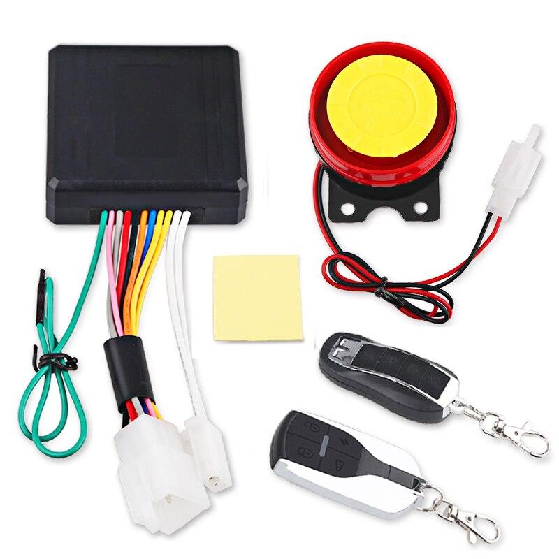 Alarma de seguridad antirrobo para el arranque del motor y el sistema de alarma Universal para motocicletas y motocicletas