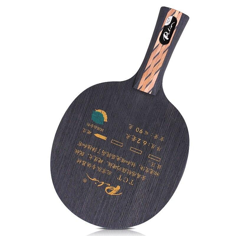 Original Palio TCT (Ti + Carbon) angriff + Loop Tischtennis Klinge für PingPong Schläger Klinge für PingPong Schläger [Playa PingPong]