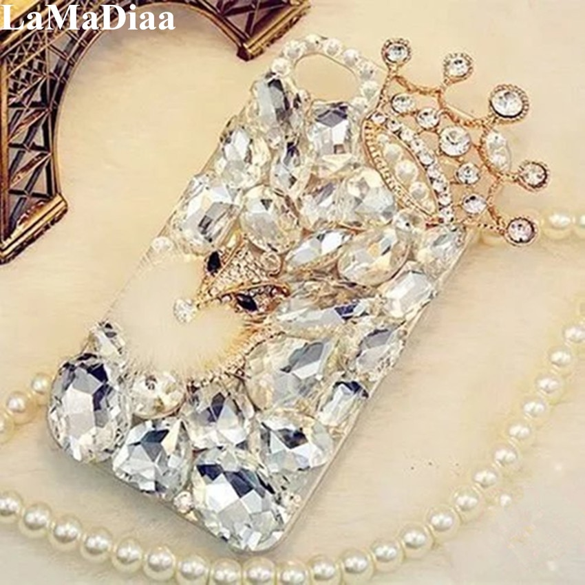 LaMaDiaa 3D Caso Rhinestone para Samsung Galaxy J5 J4 J6 J7 J8 2018 A6 A8 A7 A5 A3 Que Bling Cristal de Diamante Tampa Escudo Protetor