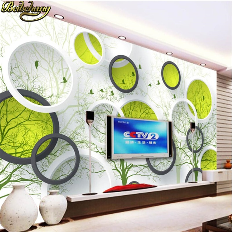 beibehang custom european damascus wallpapers for living room photo mural wall papers home decor 3d wallpaper for bedroom walls beibehang Abstract tree circle Custom 3D Photo mural wallpaper for walls 3 d wall papers home decor Living Room living room roll