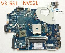 NBC1711001 For ACER gateway NV52L V3-551 Laptop Motherboard Q5WV8 LA-8331P Mainboard 100%tested fully work