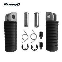 Педали для ног KOWELL, передние педали для ног для Кавасаки EX250, ниндзи 250, ER-4F, KLE650, EX250, ER-4F, ниндзи 400, KLE650, VERSYS 650, GTR1400