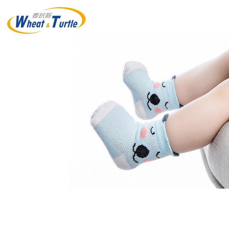 Newborn Cotton infant Anti-slip socks Baby socks floor socks Boys Girls Cute Cartoon animal Baby Toddler Socks