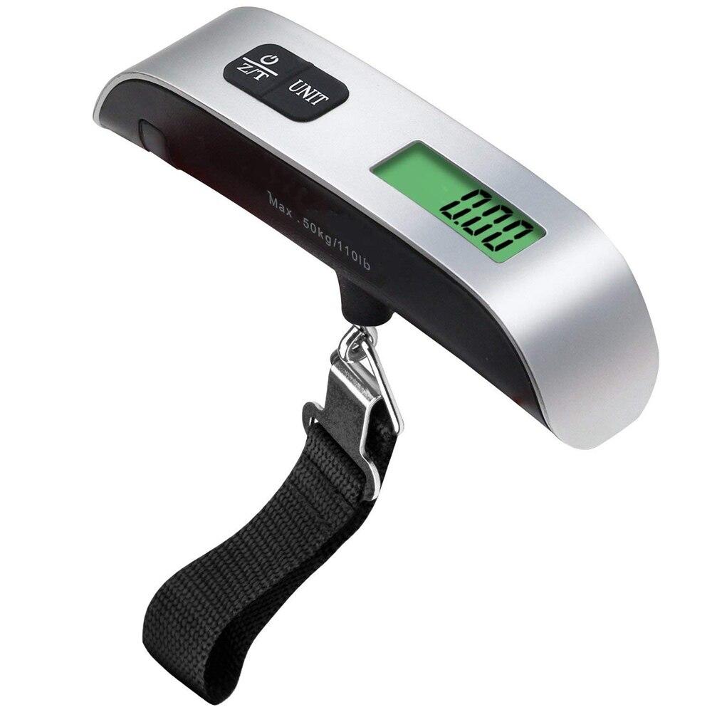 ميزان وزن رقمي معلق إلكتروني بشاشة عرض LCD محمول على الموضة 100 قطعة 50 كجم * 10 كجم 50 كجم/110رطل