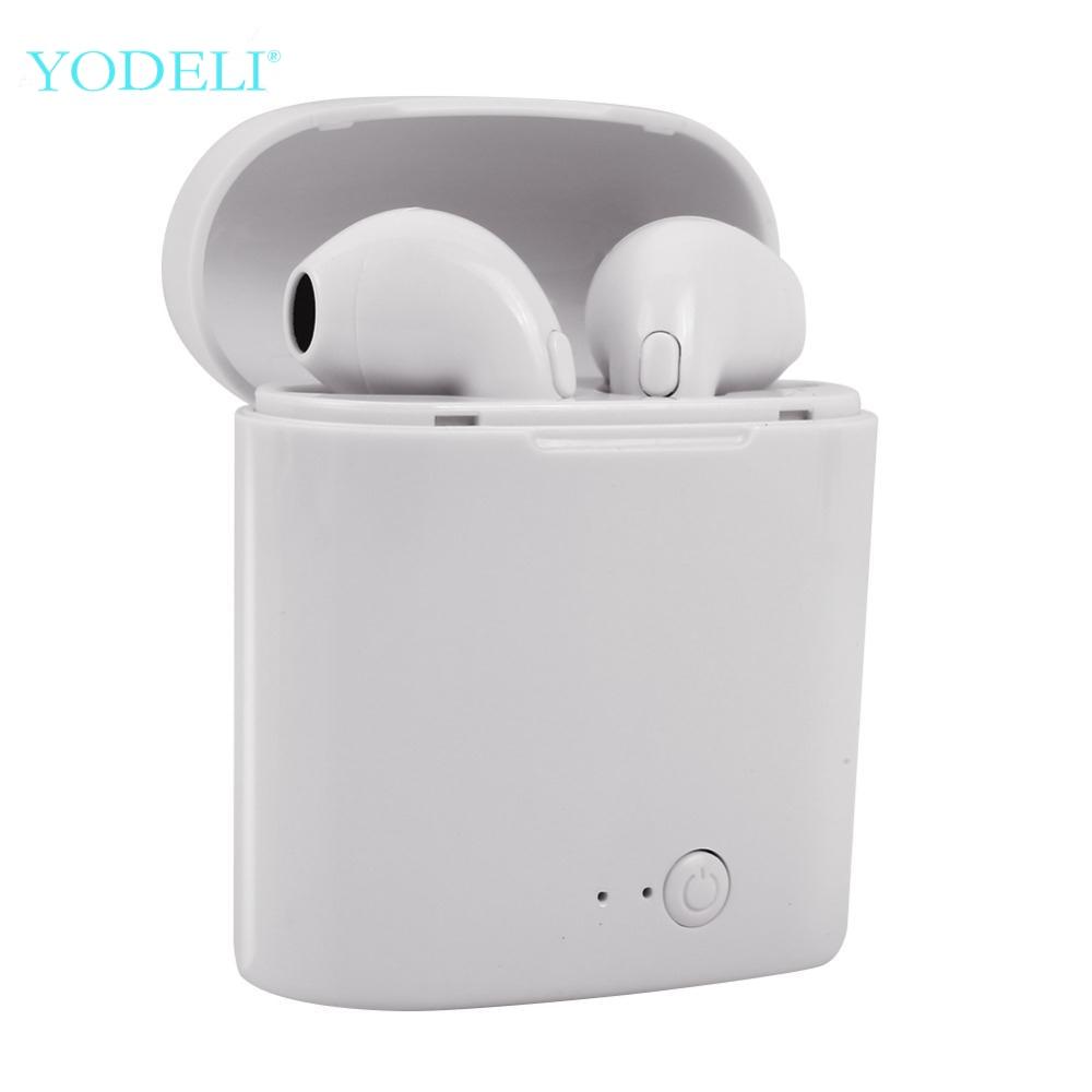 I7s Tws Bluetooth наушники мини беспроводные наушники спортивные свободные наушники беспроводные наушники с зарядной коробкой для телефона xiaomi