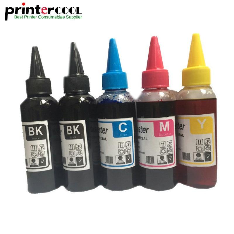 Einkshop 500ML T2621 T2631-T2634 recarga de tinta para Epson XP-600 XP-820 XP-605 XP-700 XP-800 XP600 XP820 XP605 tinta Dye impresión