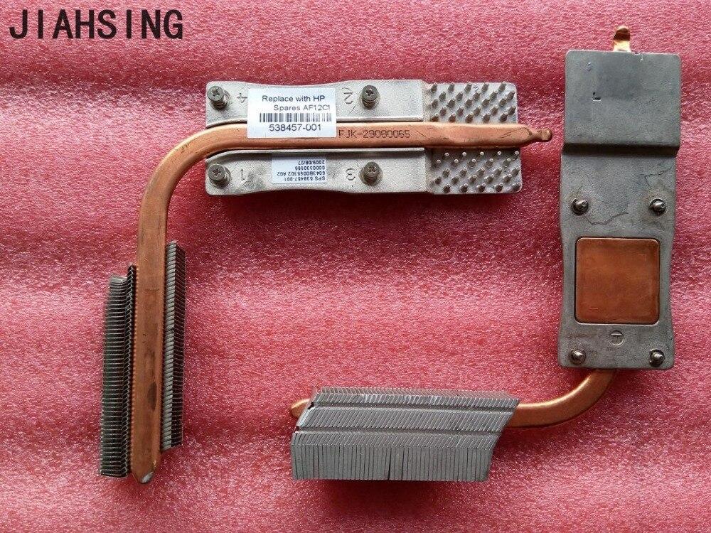 100%New cooler for HP compaq 510 610 CQ510 CQ610 laptop cooling heatsink 538457-001 6043B0065303 6043B0065302 UMA model