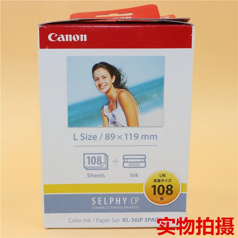 Canon KL-108 Cámara impresión papel sublimación caliente Universal Canon CP Series 108