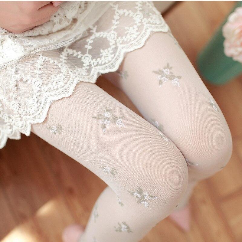 Nuevas medias sexis bonitas ajustadas a la moda para mujer, medias de broma, medias hasta la rodilla para mujer, medias bonitas de caramelo para chica