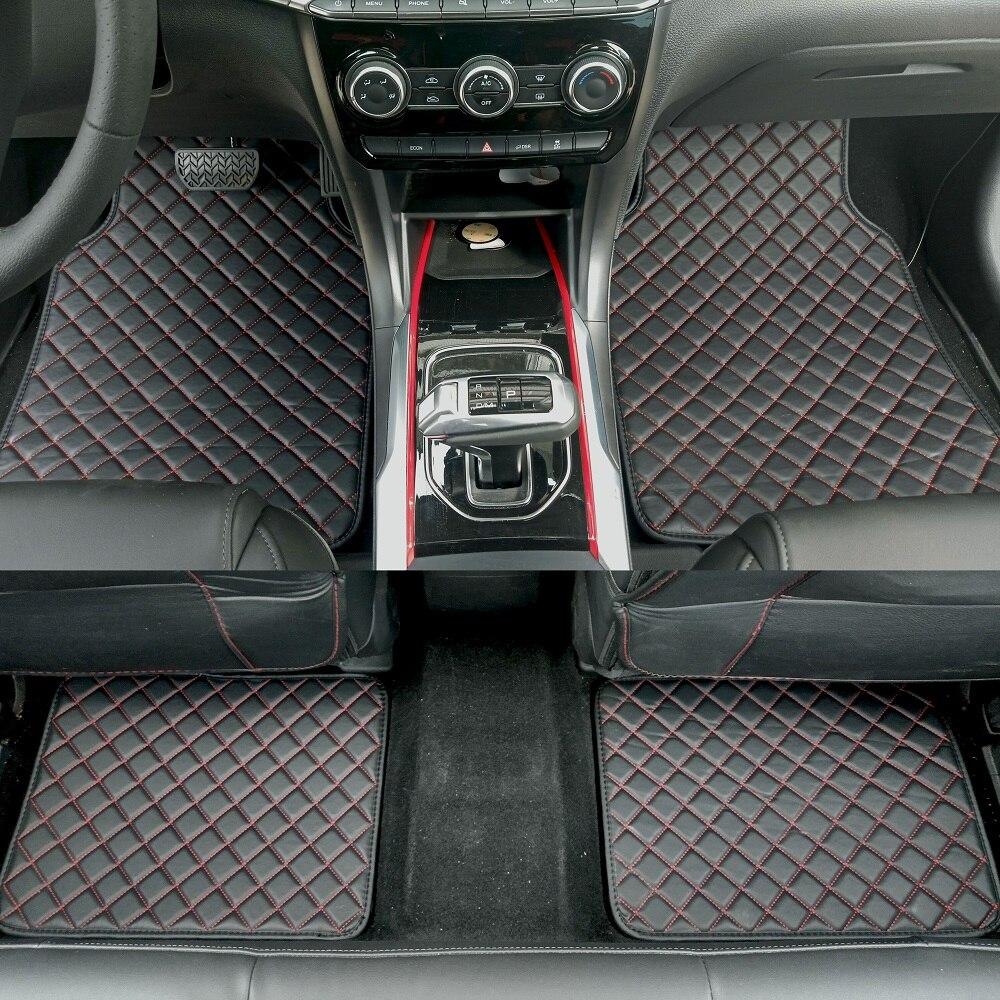 ZHAOYANHUA, alfombrillas universales para todos los modelos, Mercedes Benz A B C E class W211 W212 W204 W205 W176 W169 W245, estilismo para automóviles