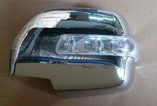 Chrome Mirror Cover Shell For Lexus LX470 2002-2012 Land Cuiser FJ100 1998-2007 Year