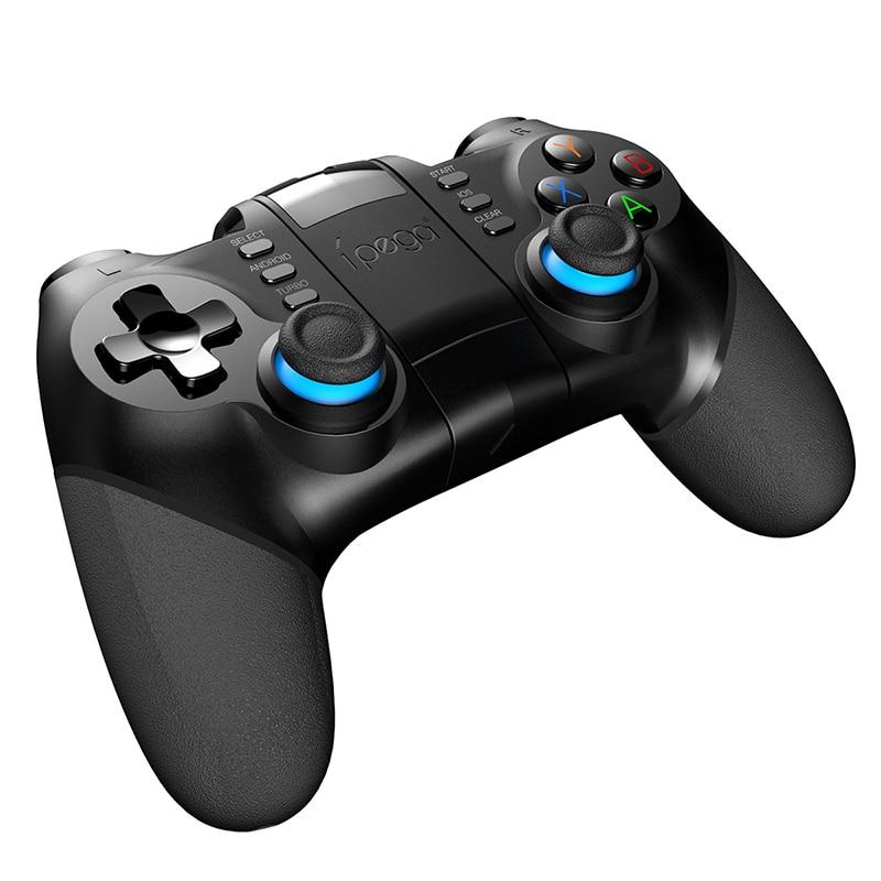 Novo ipega PG-9156 bluetooth controlador 2.4g sem fio gamepad móvel pubg gaming joystick para android/ios telefones pc tablet ps3