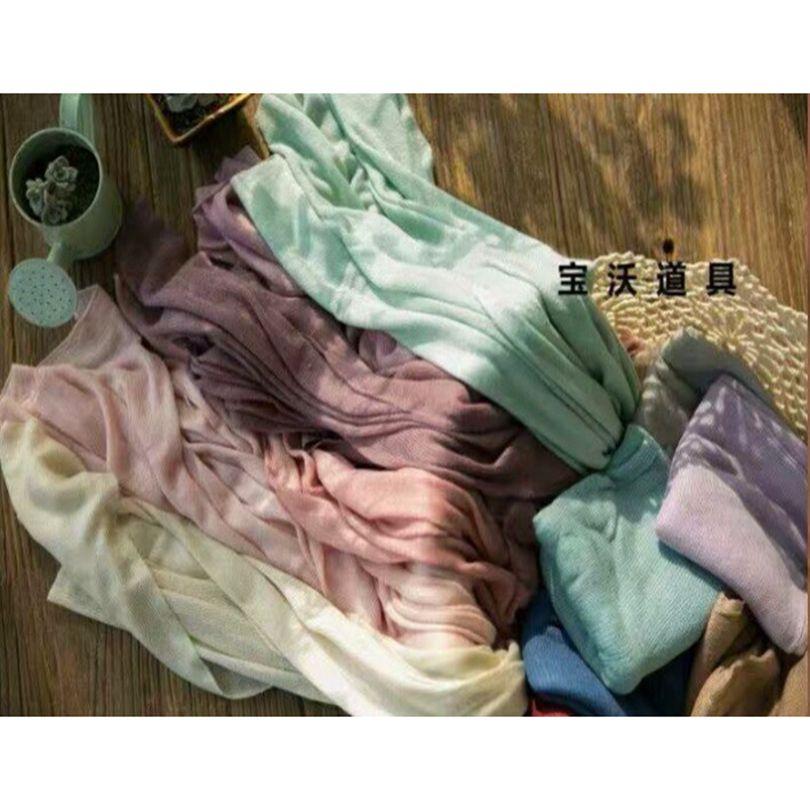 Baby stretch wrap Newborn Jersey wrap Photography props Newborn swaddle blanket