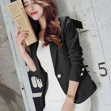 J51120 blazer mulheres novas chegadas senhoras blazers manga longa terno de escritório negócios jaquetas femininas blaser femme