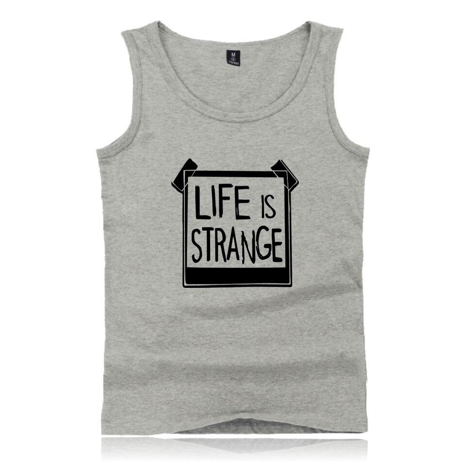 Game Life is Strange Casual Summer Vest Men Women Whatif Print Funny Tank Tops Life is Strange Max Caulfield