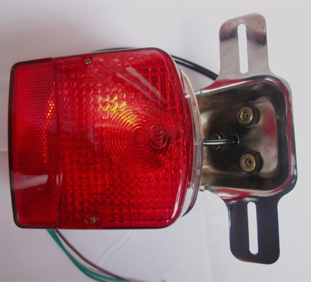 Para GN125 GN150 GN 250 lámpara de luz trasera de motocicleta lámpara de luz trasera de freno