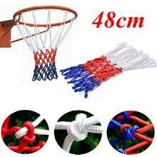 Pleine Taille de Basket-Ball Cerceau Filet Danneau Extérieur Fixé Au Mur Suspendu Panier Net