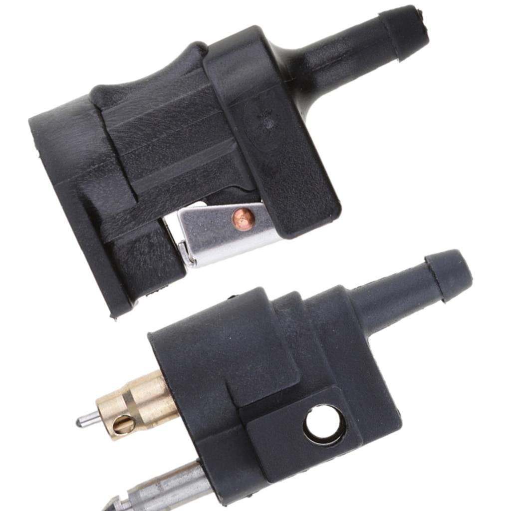 1 1/4 ″ 6mm y 5/16 ″ 10mm combustible tubo flexible accesorio adaptador de conector para Motor fueraborda Yamaha barco Accesorios