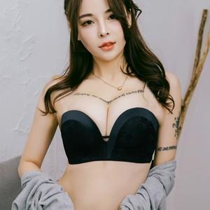 Sexy Deep V Bras For Women Push Up Lingerie Seamless Bra Plunge Bralette Wire Free Brassiere Underwear Intimate