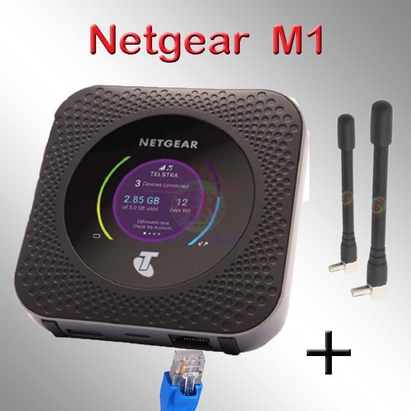 Desbloqueado se Netgear Nighthawk M1 mr1100 4GX móvil 4g Hotspot banda 28 700mhz 1000mbps lan 4g WiFi para coche dongle mifi router m1