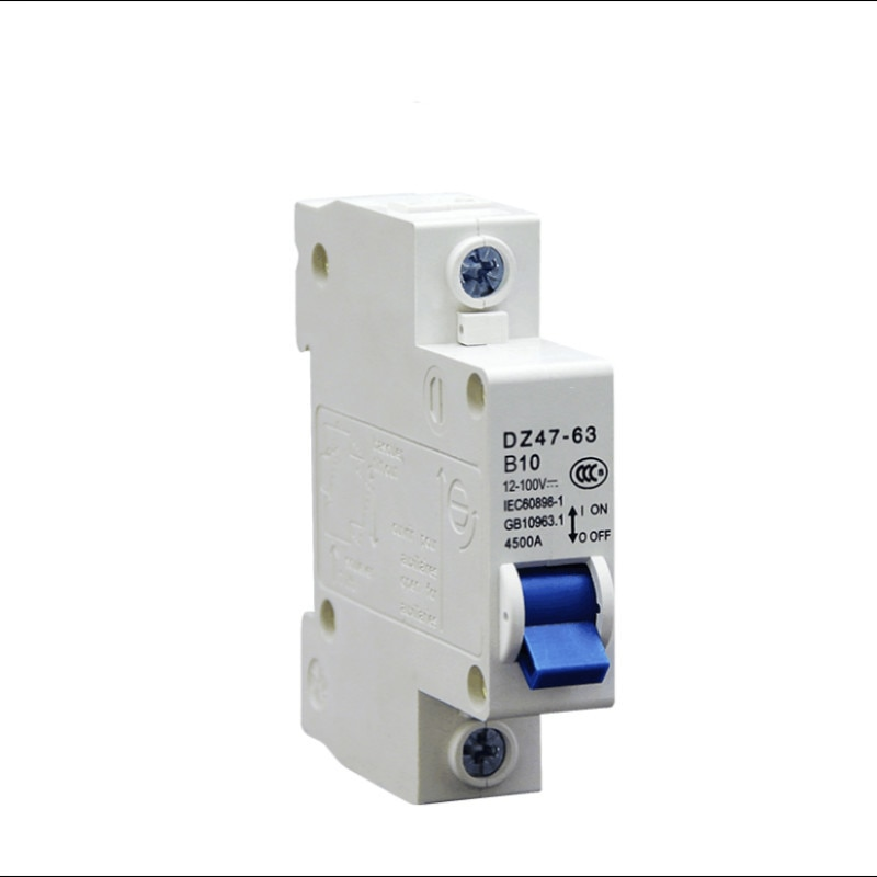 DC MCB Mini  Circuit Breaker DC12V-110V  Air Switch Overload Protecto1P 2P 10A 16A 20A 25A 32A 40A 50A 63A