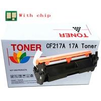 1pk Replacement CF217A 17A Black Toner cartridge for hp LaserJet Pro M102a M102w MFP M130A M130fn M130fw M103nw + with chip
