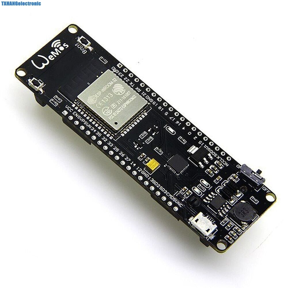 Aliexpress - WiFi + Bluetooth Battery ESP32