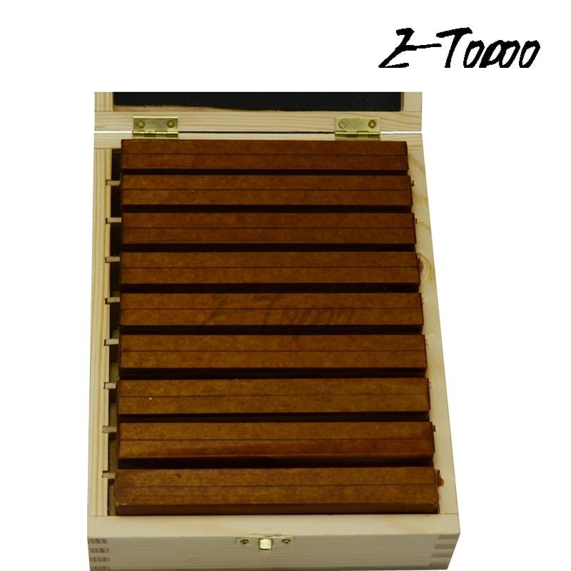 100x4mm, 9 pares, conjunto paralelo de alta precisión, paralelismo 0.005mm, conjunto de bock paralelo, herramientas paralelas endurecidas
