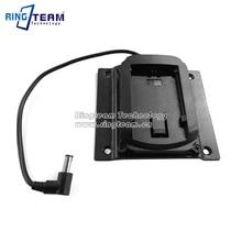 2 Pcs/Lot VESA LCD moniteur Source dalimentation support de berceau support adaptateur plaque pour batterie Canon LP-E6 LPE6 LP E6 batterie