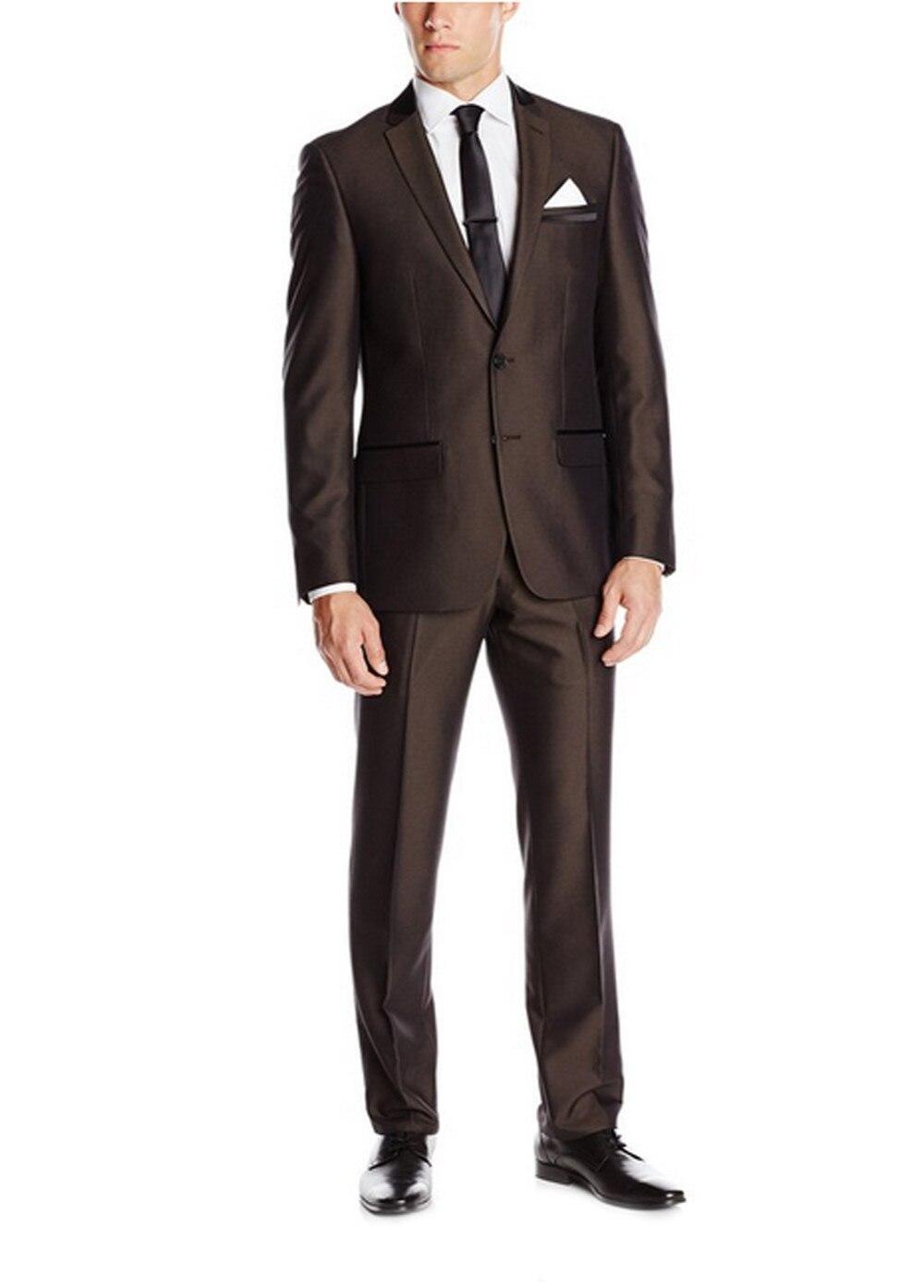 Traje para hombre esmoquin trajes de boda personalizados para hombres a medida...