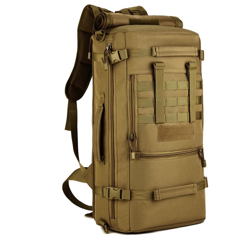 50L Protector Plus Large Capacity Backpack Combat Attack Assault Multifunction Army Shoulder bag Military Tactical Handlebag