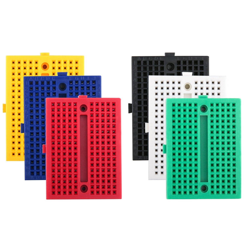 Robotlinking 6PCS 170 tie-points мини Макет комплект для Arduino