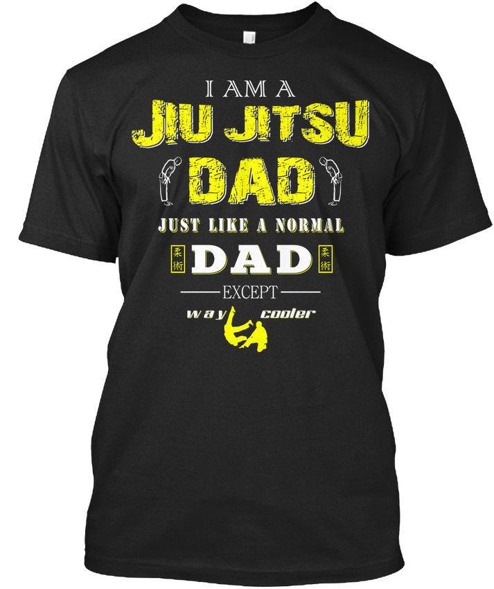 Jiu Jitsu papá-soy como Normal-excepto-manera Cool camiseta elegante