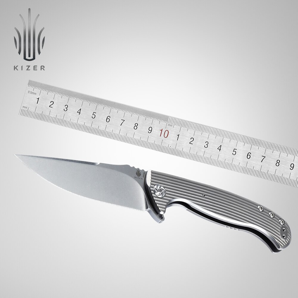 Kizer slim pocket knife KI4503 TORO best folding tactical knife essencial outdoor knife edc tool