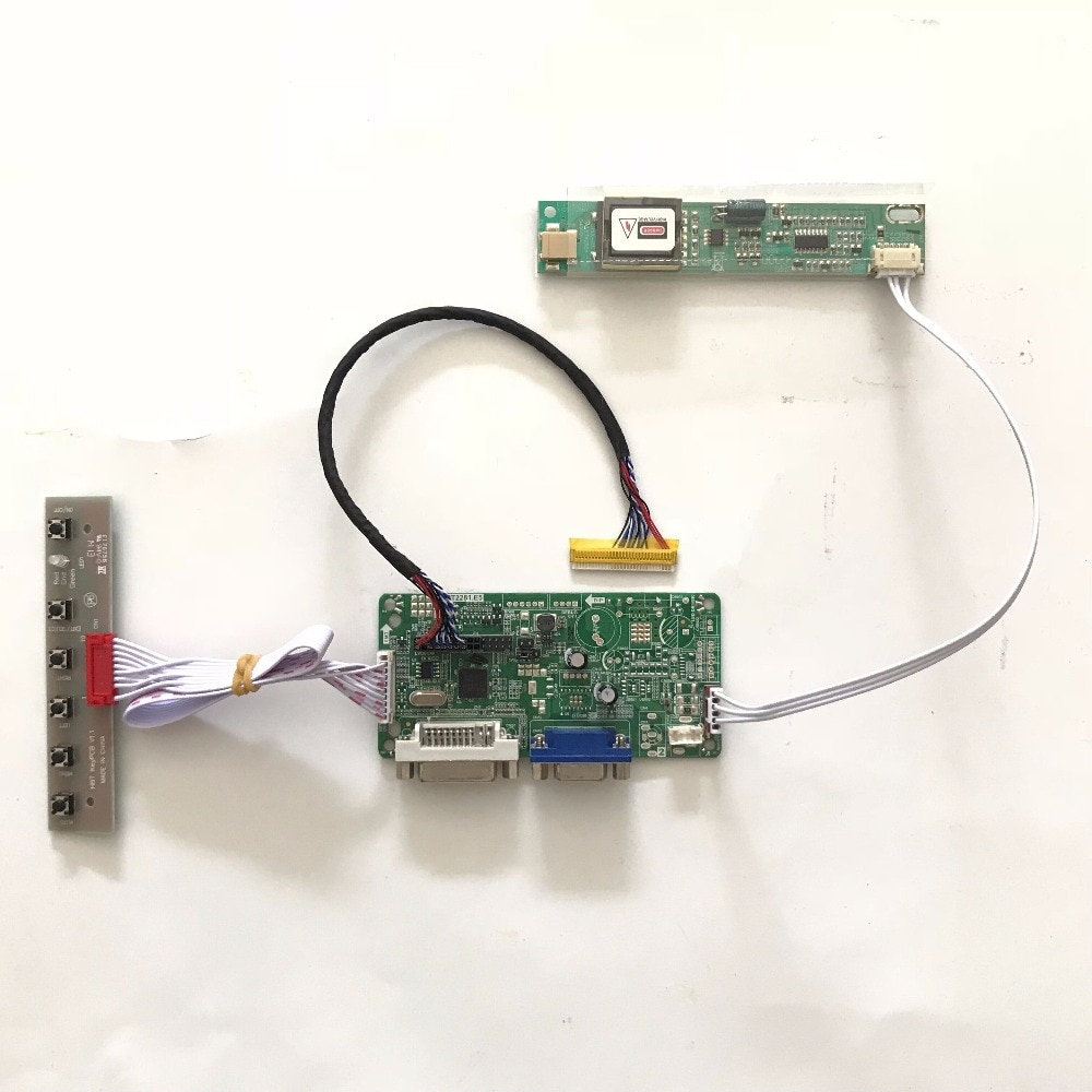 RT2281 DVI VGA LCD Controller Board für 15,4 zoll 1280x800 CLAA154WA05A CCFL LVDS Monitor Kit Einfach zu DIY