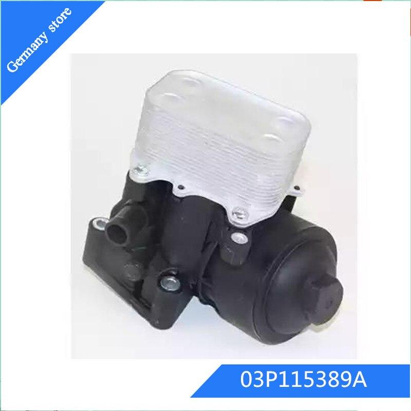 Enfriador de aceite de motor para asiento IBIZA IV (6J5... 6P1) 1,2 TDI OEM 03P115389A 03P115389B