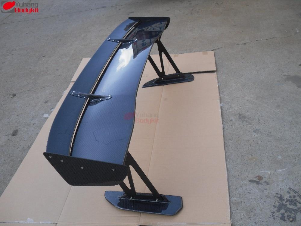 Para 2008-2012 Evolution EVO X Voltex tipo 5 alerón trasero 1600MM alerón trasero GT Wing fibra de carbono