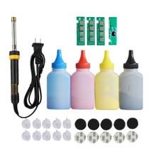 Refill toner Powder cartridge tool kit + 4 chip for samsung CLT-406S 406S CLP-360 365w 366W CLX-3305 C460FW 3306FN 3305W