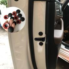 12pcs Car Door Lock Screw Cover For Skoda Octavia Yeti Roomster Fabia Rapid Superb KODIAQ Citigo KAMIQ KAROQ SCALA  VISION X