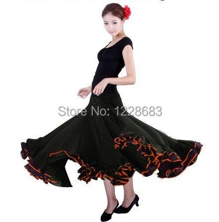 Las niñas y las mujeres faldas traje De baile español bata Jupe...