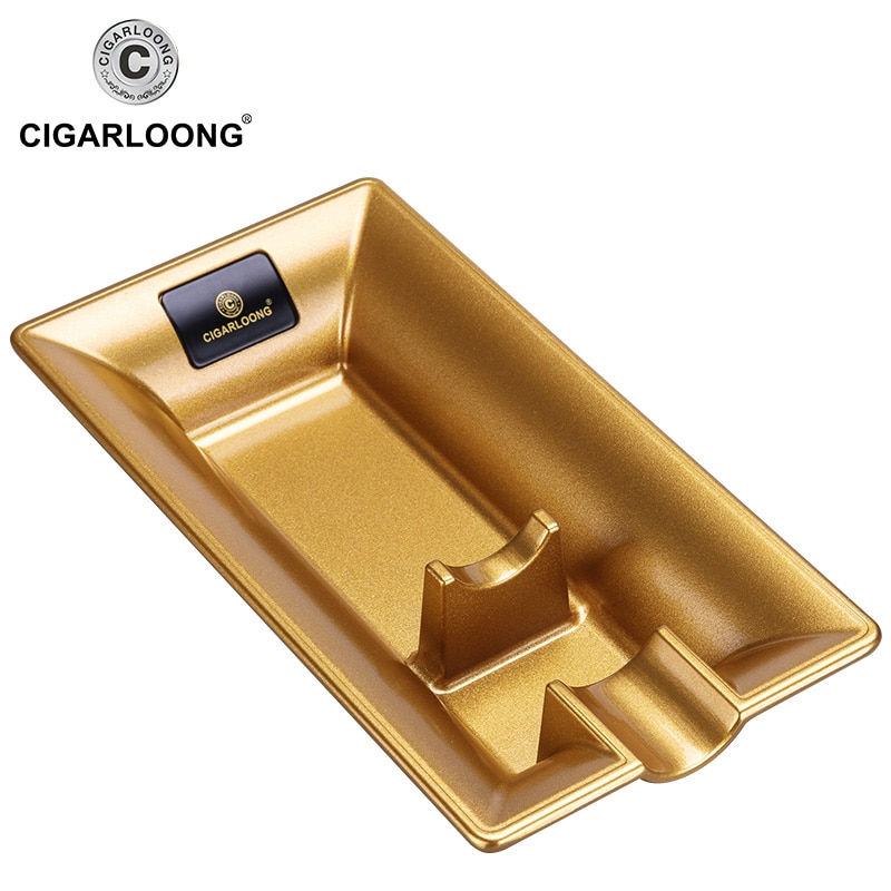 5pcs Cigar Accessories Set Cigar Ashtray Gas Lighters Windproof Sharp Cutter Portable Tube Cigar Holder With Luxury Gift Box enlarge