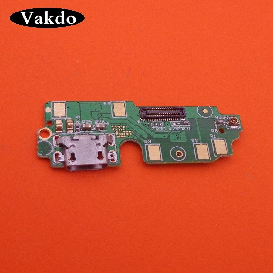 Placa de cargador Micro USB Módulo de placa de puerto de Cable para Xiaomi Redmi 4 Pro reemplazo enchufe de piezas micrófono mic