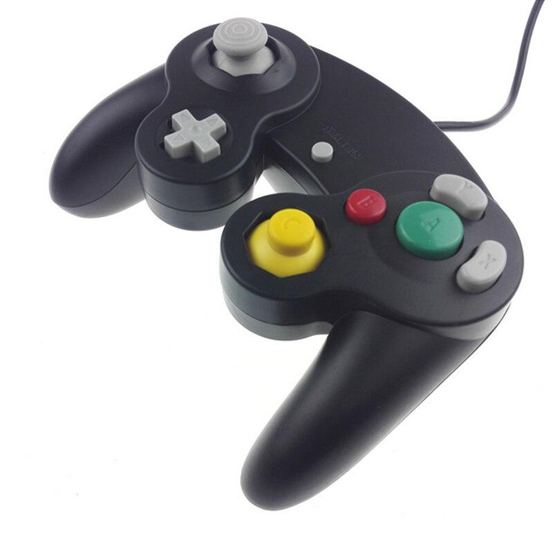 Mando de mando con cable clásico Gamepad para mando Nintend para Wii para Gamecube Viarator Vibration Gaming Accessories