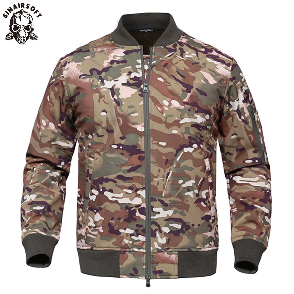 SINAIRSOFT, Deportes de caza al aire libre, impermeable, carcasa suave, chaqueta táctica, Ejército SWAT, entrenamiento militar, abrigo de abrigo a prueba de viento
