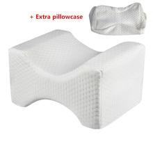 Oreiller en mousse à mémoire pour le genou   Soutien-gorge pour la mise en forme des jambes, soutien-cuisse pour le sommeil, anti-douleur au dos de la hanche
