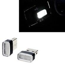 Universal Car-Styling USB LED Atmosphere Lights Decorative Lamp for Suzuki SX4 SWIFT Alto Liane Grand Vitara Jimny S-Cross