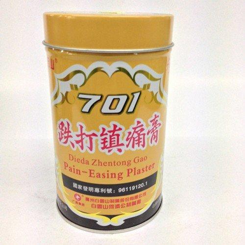 Yeso 701 medicado (701 Dieda Zhentong Gao ) -1 lata