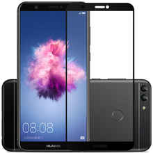 3D Tempered Glass For Huawei P Smart Full Screen Cover Explosion-proof Screen Protector Film For Huawei P Smart FIG-LX1